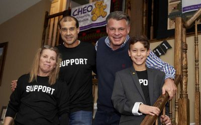 Help Logan meet his birthday fundraising goal for CHEO